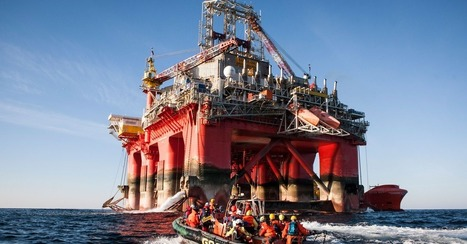 Greenpeace Activists Occupy Oil Rig in Norwegian Arctic | All about water, the oceans, environmental issues | Scoop.it