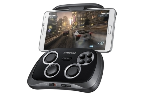 Samsung's Galaxy GamePad brings precision Android controls to ... | William History Class | Scoop.it