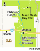 Plan keeps oil drilling out of view from Elkhorn Ranch - Prairie Business | Fracking | Scoop.it