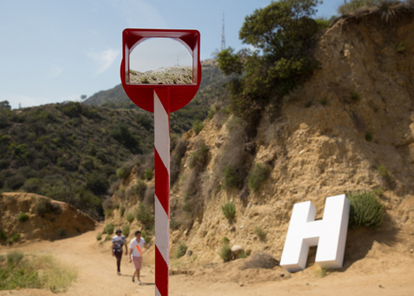 Ordinary Architecture vanish the Hollywood sign | What's new in Visual Communication? | Scoop.it