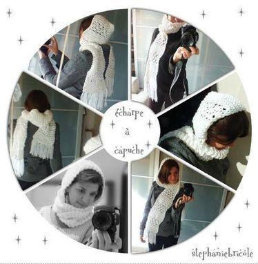 TUTO - Tricoter une écharpe à capuche au point d'astrakan | Fait maison | Scoop.it