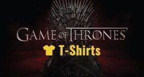 24 T-Shirts All Game of Thrones Fans Should Be Wearing | All Things Celebrity & Entertainment | Scoop.it
