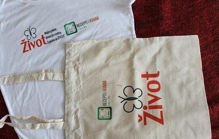 Za najbolje recepte meseca oktobra – poklon je Majica jedna donacije vredna - Recepti i Kuvar online | Recepti i Kuvar | Scoop.it