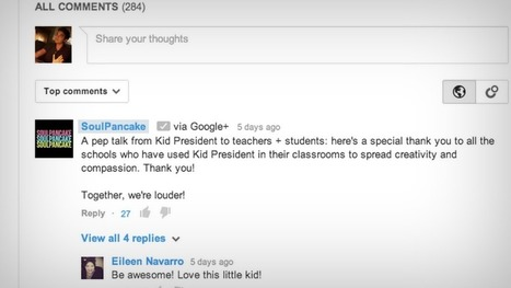 Google+ va faire la loi dans les commentaires Youtube | Geeks | Scoop.it