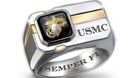 Marine Corps Rings for The United States Marine Corps | Rings of the World | Scoop.it