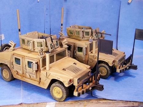 Up Armored HUMVEE ( Last Full Builds Done !! ? ) | Military Miniatures H.Q. | Scoop.it