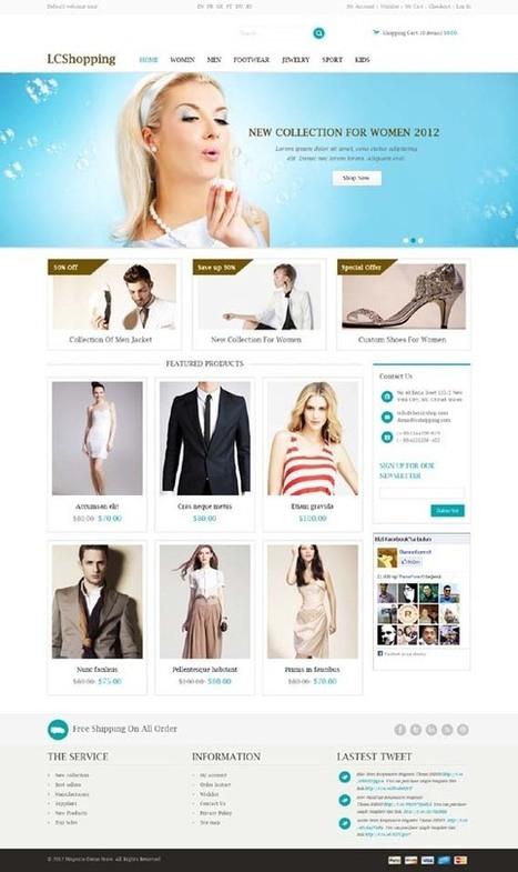 LCShopping, Magento Responsive Apparel Shop Theme | Premium Download | Premium Magento Themes | Scoop.it