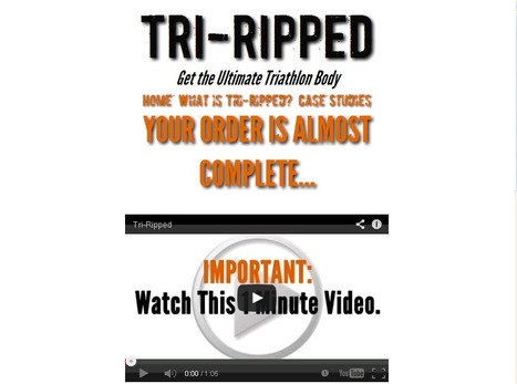 Tri-Ripped GET THE ULTIMATE BODY | FITNESS AND WEIGHT LOSS | Scoop.it