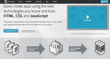 PhoneGap - Framework open source para desarrollo de apps móviles   Apps   Scoop.it