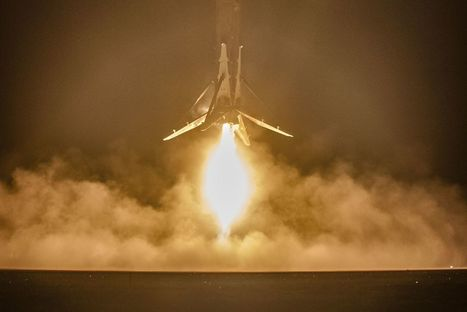Elon Musk says the Falcon 9 rocket SpaceX successfully landed is 'ready to fire again' | More Commercial Space News | Scoop.it