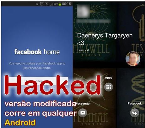 Facebook Home foi crackado e funciona em qualquer Android ... | Redes Sociais (Social Networks) | Scoop.it