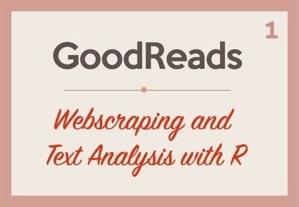 GoodReads: Webscraping and Text Analysis with R (Part 1) | Business Analytics & Data Science | Scoop.it