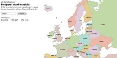 This Cool Interactive Map Can Translate English Into More Than 30 European Languages I Paul Szoldra | Entretiens Professionnels | Scoop.it