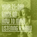 Talk in French  Learn French: Your 21-Day Guide on How to Make Listening a Habit » Talk in French | French Language | Scoop.it