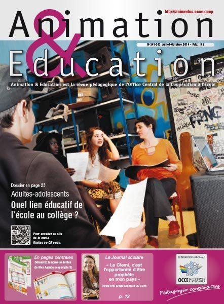 Animation & Education - Revue pédagogique de l'OCCE | E-apprentissage | Scoop.it