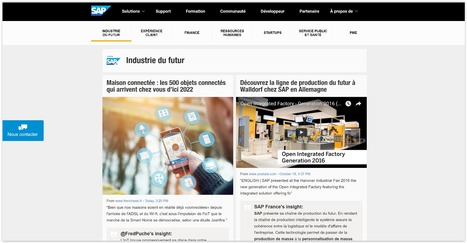 SAP France | Showcase of custom topics | Scoop.it