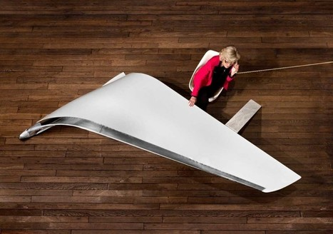 This desk is made from the wing of a 737 Boeing jet | Inspired By Design | Scoop.it