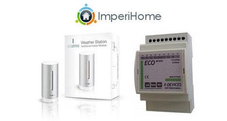ImperiHome 1.9 : Eco-Devices et améliorations Netatmo | Soho et e-House : Vie numérique familiale | Scoop.it