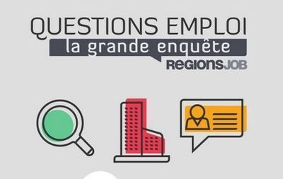 Enquêtes RegionsJob : le recrutement et la recherche d'emploi en France | Management RH | Scoop.it