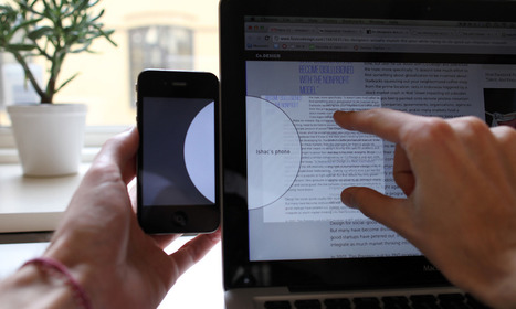 Watch This Ingenious UI Idea, For Dragging Files From Your Phone To Computer | CognitiveScience | Scoop.it
