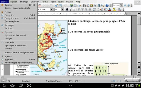 Open Office/ Libreoffice sur Android, c'est déjà possible avec AndrOpen Office | formation 2.0 | Scoop.it