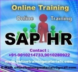 SAP HR online training institute in Ameerpet, SAP HR Online Training Institute from Hyderabad India.   Online Training Materials   Online Training   Scoop.it