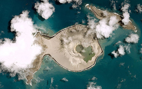 First photographs emerge of new Pacific island off Tonga | Geography Education | Scoop.it