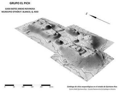 La Jornada: Localiza el INAH un gran sitio prehispánico maya al sur de QR | l'histoire | Scoop.it
