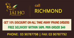 Get 10% Discount On All Take Away | JAI HO INDIAN RESTAURANT | Scoop.it