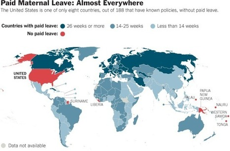 Paid Maternity Leave: Almost Everywhere - NYTimes.com | Cultural Geography News | Scoop.it