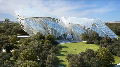 Fondation Louis Vuitton, Paris   Architecture on the world   Scoop.it