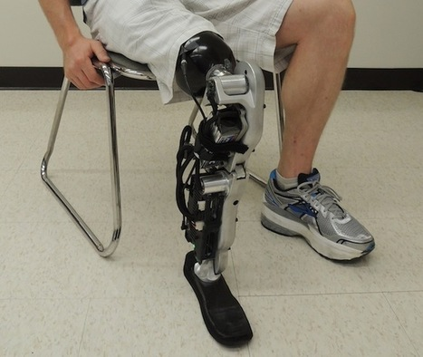 The Future of Prosthetics Could Be This Brain-Controlled Bionic Leg | 21st Century Innovative Technologies and Developments as also discoveries, curiosity ( insolite)... | Scoop.it