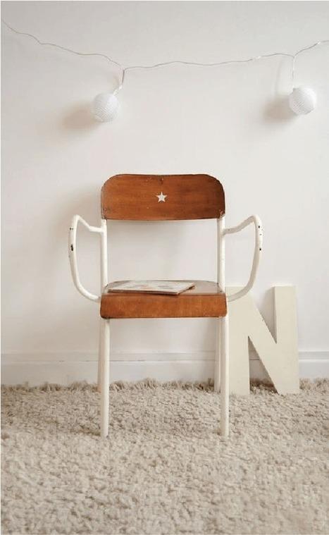 5 astuces pour customiser une chaise d'enfant | Décoration | Scoop.it