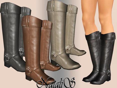 NataliS flat leather boots : GRATUIT pendant 24h (TSR) | asdfjköl | Scoop.it