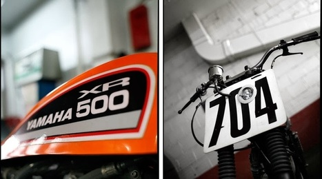 YAMAHA 500 SR 'DIRT TRACK' - Grease n Gasoline | Refugees | Scoop.it