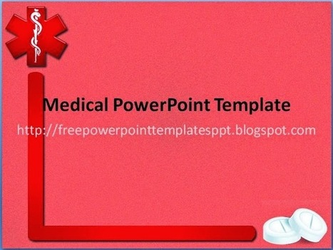 Free Medical PowerPoint Templates .potx for Health Presentation Slides to Download | Free PowerPoint Presentations Templates Background to Download | Scoop.it