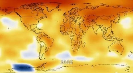 La NASA illustre le réchauffement climatique depuis 1880 | 21st Century Innovative Technologies and Developments as also discoveries, curiosity ( insolite)... | Scoop.it