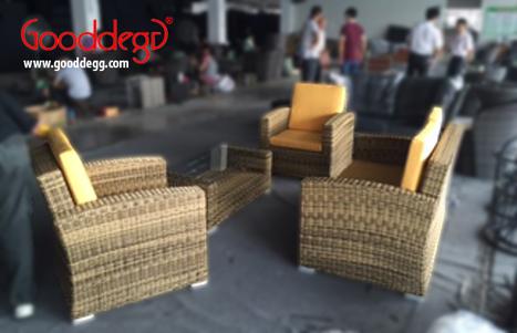 SUVA Classic Conversation Set on Production Floor | Home Decor (Wicker Furniture) | Scoop.it
