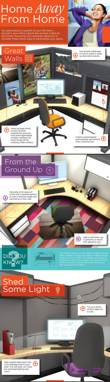 How to Decorate an Office | Infographics | Scoop.it