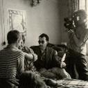 """Jean-Luc Godard directs Jean-Paul Belmondo and Jean Seberg in À bout de souffle... 1960.  - via @adalbertoasf   """"1960""""   Scoop.it"""