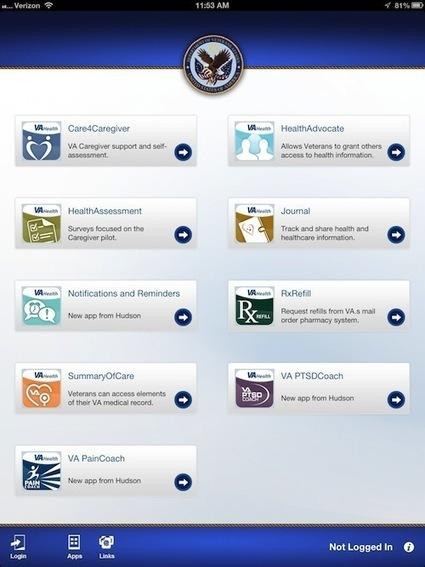 VA launches caregiver pilot with 10 new iPad Apps | #ALS AWARENESS #LouGehrigsDisease #PARKINSONS | Scoop.it