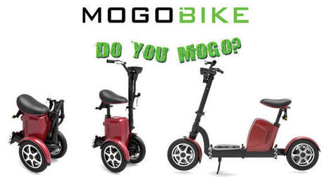 The Mogo Bike: a folding electric scooter | Stock News Desk | Scoop.it