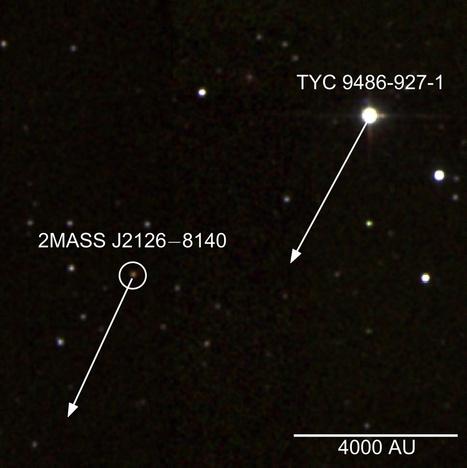 2MASS J2126: il pianeta extrasolare a mille miliardi di chilometri dalla propria stella madre | Space & Astronony | Scoop.it