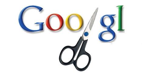 Aprovecha el nuevo acortador de enlaces de Google | Pedalogica: educación y TIC | Scoop.it