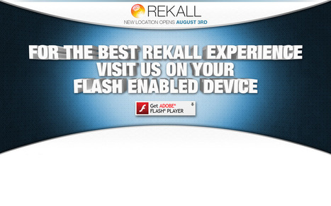 Welcome to Rekall: Viral Website for Summer Blockbuster | Tracking Transmedia | Scoop.it