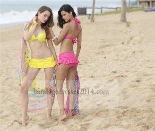 Three Pieces Halter Neck Bikini Swimwears [two pieces bikini swimwear] - $155.00 : Cheap Dresses For Women,Sexy Cheap Bandage Dresses,Cheap Bodycon Bandage Dresses   bikini swimwears   Scoop.it