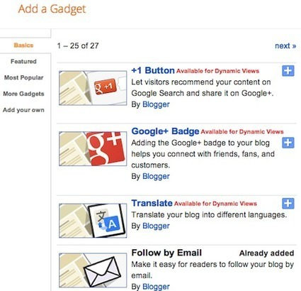 Blogger Getting Started Guide - Blogger Help | Para profes | Scoop.it