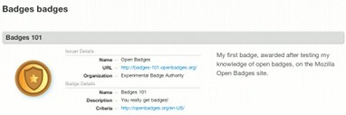 RSC e-Assessment: Earning my first #openbadge and creating my badge backpack | e-Assessment in Further and Higher Education | Scoop.it
