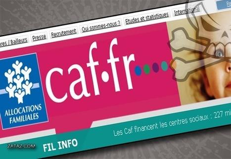 Dans les secrets d'un faux site de la CAF   Domaine D1 - Travailler dans un environnement numérique évolutif.   Scoop.it