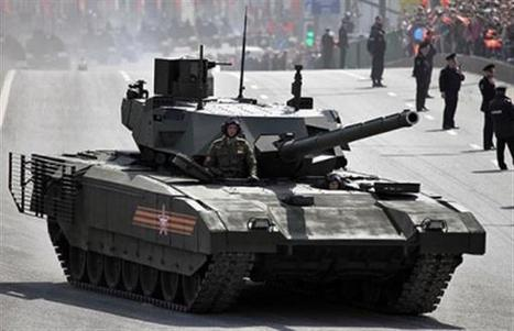 Russia uses 3D printing technology for the production of colossal T-14 Armata tanks | Amazing Science | Scoop.it